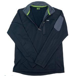 Koppen Quarter Zip Jacket Men's Medium Long Sleeve